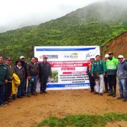 Perú: MINAGRI Inicia Obra de Riego y Asegura Agua para Cultivos de Papa y Cebada en Huancavelica