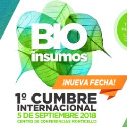 Chile: INIA Invita a 1ra Cumbre Internacional de Bioinsumos