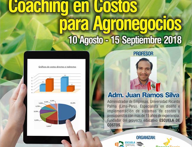 Curso Online: Coaching en Costos para los Agronegocios