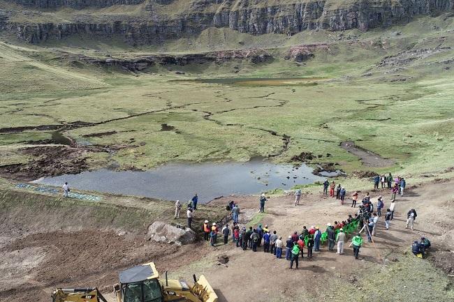 Invertirán más de S/ 5 millones en Siembra y Cosecha de Agua en Cajamarca